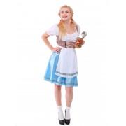 Дирндль - Баварский женский костюм
