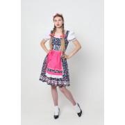Фрау Эмма - традиционный Дирндль, Баварский женский костюм.